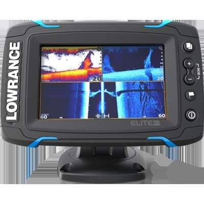 Lowrance Elite-5 Ti Med/High/Totalscan