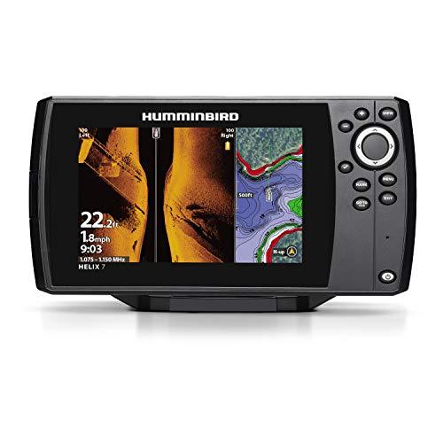 Hummingbird Helix 7 Fish Finder 410950-1, CHIRP MSI GPS G3