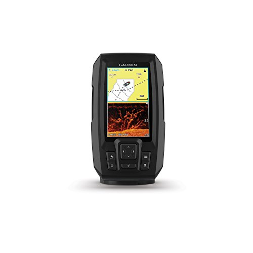 Garmin Striker 4cv with Transducer, 4' GPS Fishfinder...