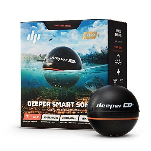 Deeper PRO+ Smart Sonar - GPS Portable Wireless Wi-Fi...