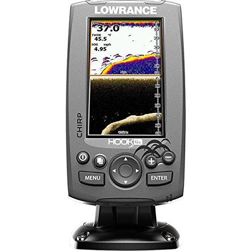 Lowrance Hook-4X Sonar W/Mid/Hi/DownScan