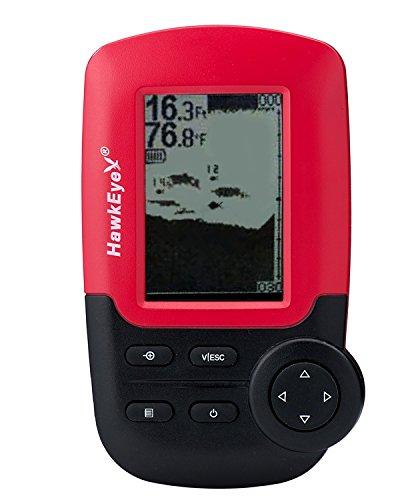 HawkEye FishTrax 1X Portable Dot Matrix Fish Finder