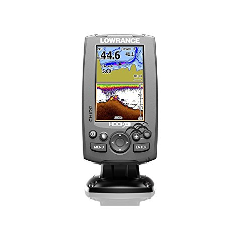 Lowrance Hook-4 Mid/High Ice Machine Fishfinder