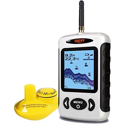 LUCKY Wireless Fish Finder Sonar Sensor Portable Sonar...