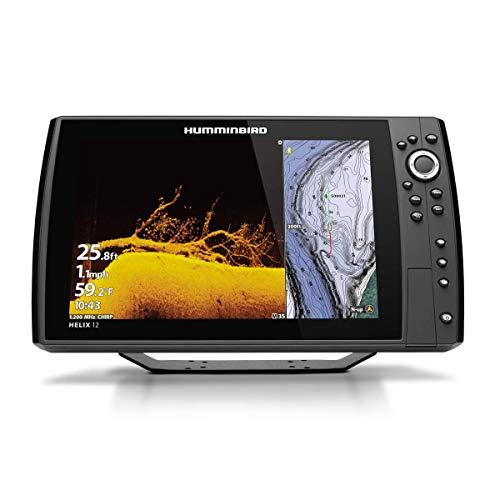 Humminbird 411440-1 Helix 12 Chirp MEGA DI+ GPS G4N Fish Finder