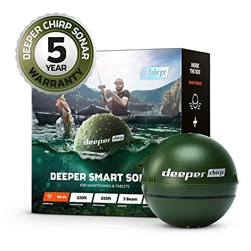 Deeper Chirp Smart Sonar Phone Castable Wireless...