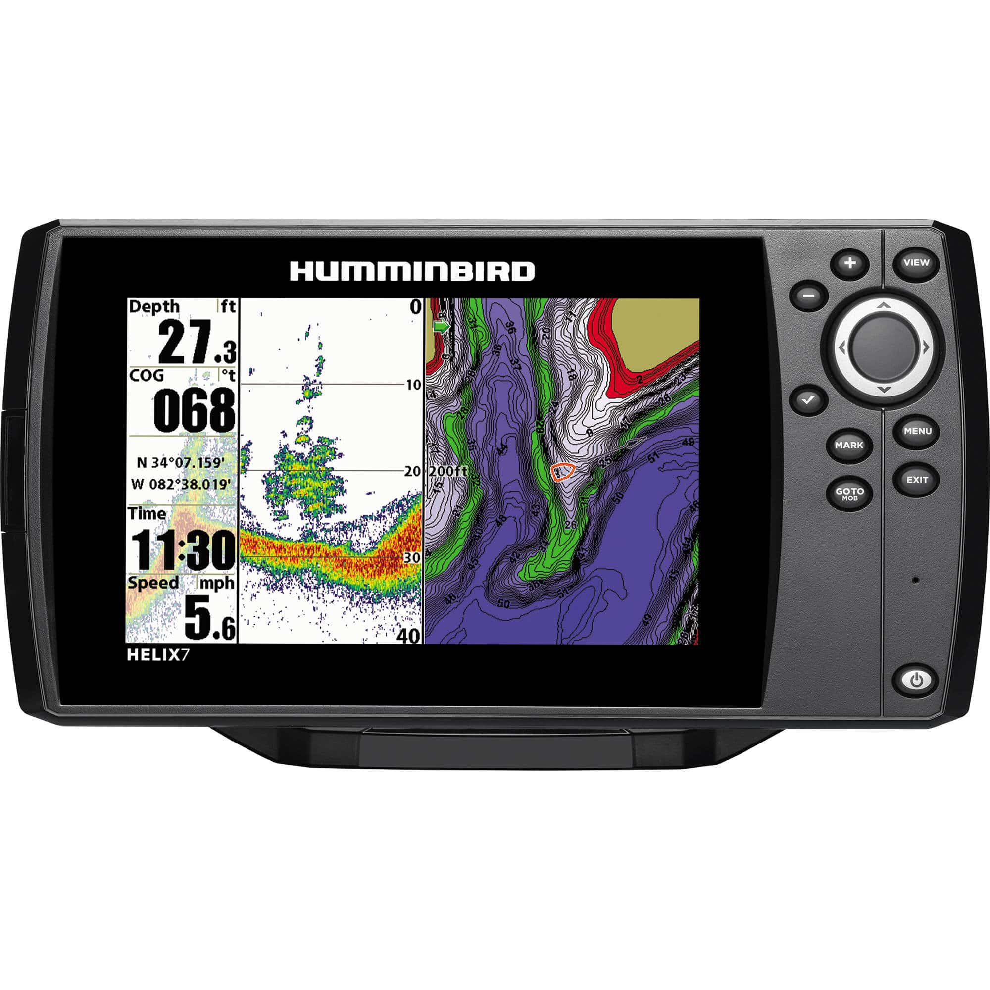 HumminBird Helix 7 Review (Looking at Chirp DI G2 & Chirp SI/GPS)